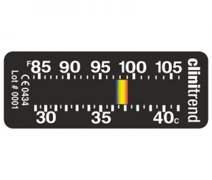 clinitrend forehead fever thermometer