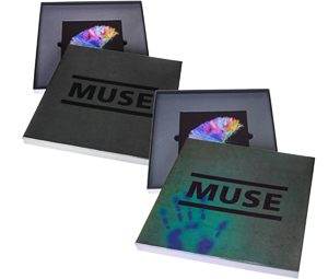 Colour Changing album cover for Muse