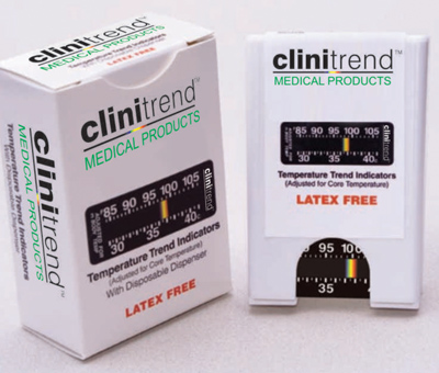 Clinitrend anaesthesia thermometers