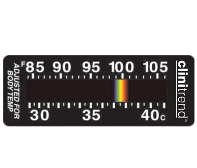 Clinitrend anaesthesia thermometer